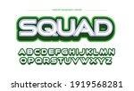 green gaming headline sports... | Shutterstock .eps vector #1919568281