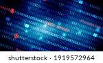 2d Illustration Cyber Attack