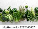Green Vegetables. Fresh Green...
