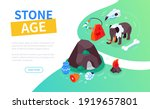 stone age   modern colorful... | Shutterstock .eps vector #1919657801