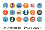 vector set cosmetics icons for... | Shutterstock .eps vector #1919660294