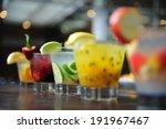 caipirinha  brazil's national... | Shutterstock . vector #191967467