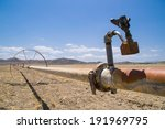 The Water Irrigation Pipes In...