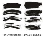 round sponge thin artist brush... | Shutterstock .eps vector #1919716661