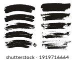 round sponge thin artist brush... | Shutterstock .eps vector #1919716664