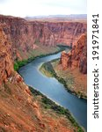 Colorado River From Cliff View  ...