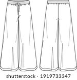 vector yoga pants technical... | Shutterstock .eps vector #1919733347