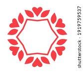 decorative frame elegant vector ...   Shutterstock .eps vector #1919759537