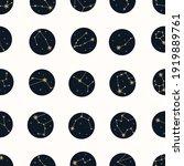 vector magic seamless pattern... | Shutterstock .eps vector #1919889761