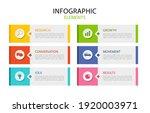 vector business infographic.... | Shutterstock .eps vector #1920003971