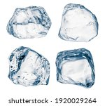 Set Of Pieces Of Pure Blue...