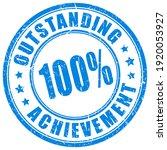 ink stamp outstanding...   Shutterstock . vector #1920053927
