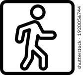 risk vector thin line icon   Shutterstock .eps vector #1920056744