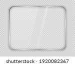 glass plate in rounded... | Shutterstock .eps vector #1920082367
