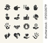 Web Icon Set   Hand
