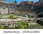 ruins of the ancient greek...   Shutterstock . vector #1920121844