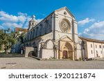 exterior of the abbey of...   Shutterstock . vector #1920121874