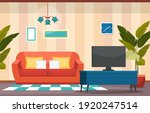 tropical houseplant green... | Shutterstock .eps vector #1920247514