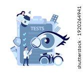 doctors ophthalmologist...   Shutterstock .eps vector #1920264941