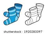 vector element of coloring book ... | Shutterstock .eps vector #1920283397