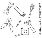simple stylish tool set design...