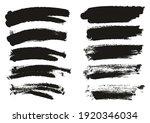 round sponge thin artist brush...   Shutterstock .eps vector #1920346034