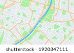 city map. town streets with... | Shutterstock .eps vector #1920347111