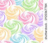 seamless pattern with color...   Shutterstock .eps vector #1920367784