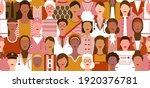 international women's day.... | Shutterstock .eps vector #1920376781