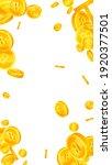 thai baht coins falling. pretty ... | Shutterstock .eps vector #1920377501