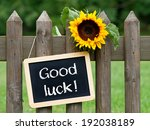 good luck   | Shutterstock . vector #192038189