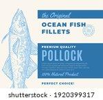 premium quality fish fillets....   Shutterstock .eps vector #1920399317