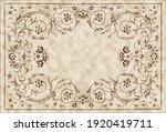 Carpet Vintage Style Tribal...