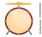 drum bell icon. cartoon of drum ... | Shutterstock .eps vector #1920420404