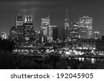 montreal view from the jacques... | Shutterstock . vector #192045905