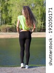 fitness model the good figure... | Shutterstock . vector #192050171