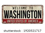 welcome to washington vintage...   Shutterstock .eps vector #1920521717