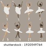 ballerina abstract illustration ...