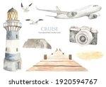 Airplane  Lighthouse  Pier ...