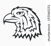 eagle head symbol   tattoo... | Shutterstock .eps vector #192060251