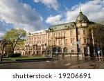 antique building in lviv ukraine | Shutterstock . vector #19206691