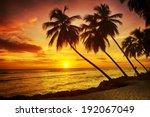 Beautiful Sunset Over The Sea...