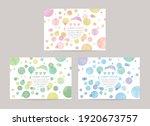 vector card design template...   Shutterstock .eps vector #1920673757