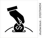 save money icon  salary money ...   Shutterstock .eps vector #1920704054
