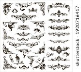 ornamental design lace borders... | Shutterstock .eps vector #1920716417