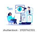 online ophthalmologist oculist...   Shutterstock .eps vector #1920761531