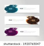vector abstract banner design... | Shutterstock .eps vector #1920765047