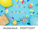 composition happy birthday  on... | Shutterstock . vector #1920772247