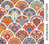 colorful seamless pattern with... | Shutterstock .eps vector #1920772694