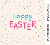 illustration of happy easter... | Shutterstock .eps vector #1920839717